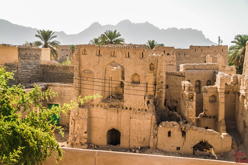 Nizwa Fort, Oman - outside view from the wall