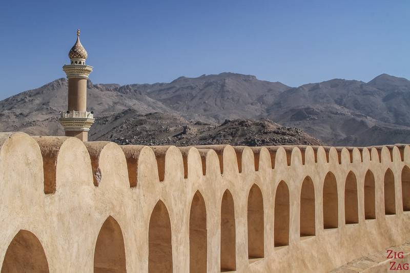 Nizwa Fort, Oman - view of the tower top 3