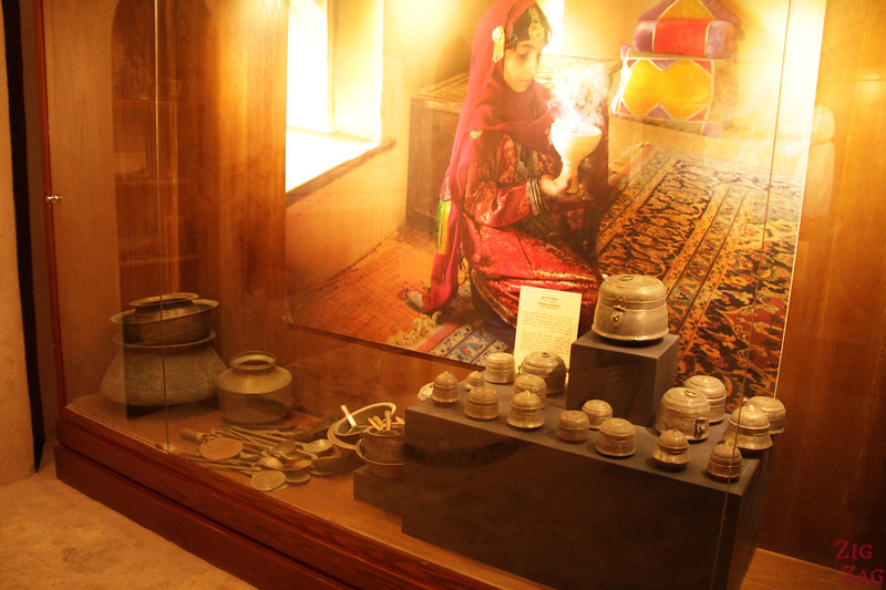 Nizwa Fort, Oman - Frankincense exhibit