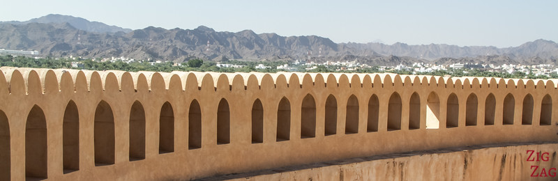 Nizwa Fort, Oman - view of the tower top 4