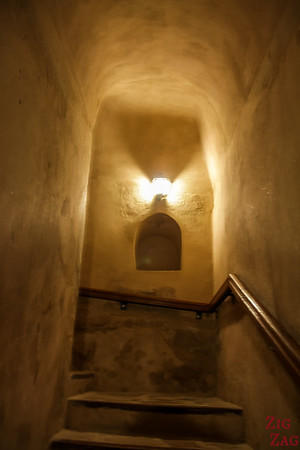 Nizwa Fort, Oman - tower stairs