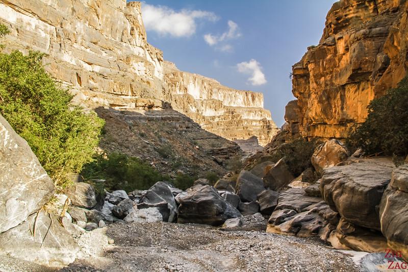 Rando dans Wadi Nakhr Wadi Ghul 1