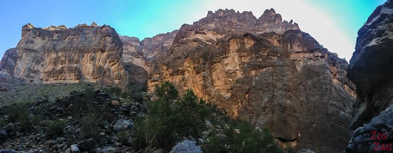 Rando dans Wadi Nakhr 5