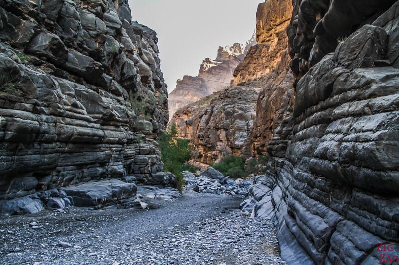 Rando dans Wadi Nakhr Wadi Ghul 2