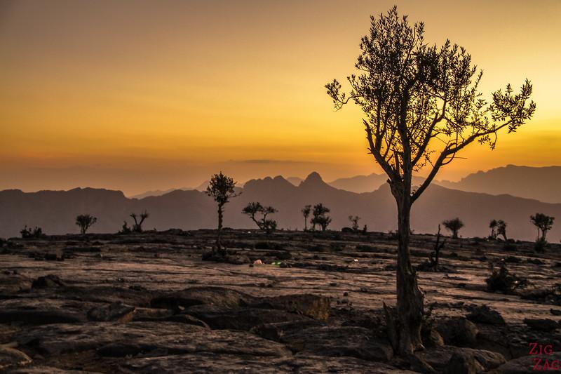 Jebel Shams sunset 3