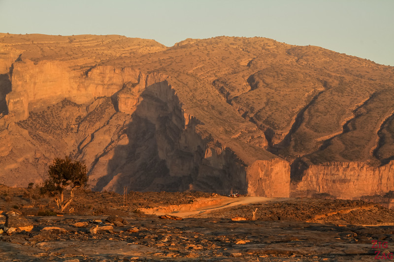 Coucher de soleil au Grand Canyon Oman 5