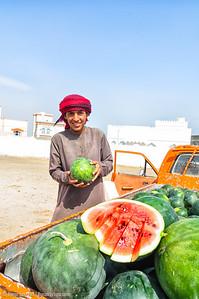 A watermelon?