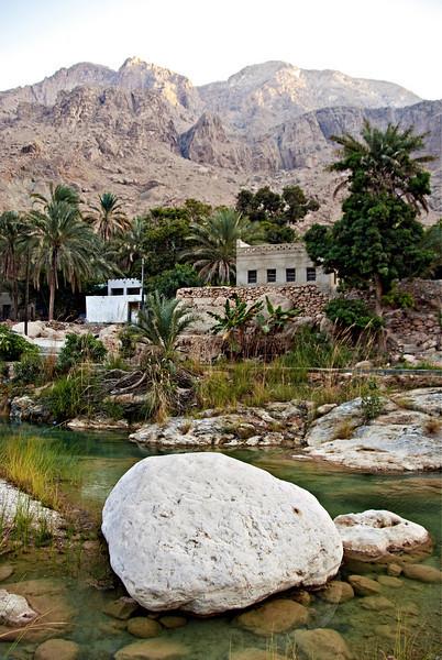 Home in Wadi Tiwi.