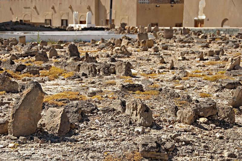 Ancient grave yard, Mirbat.