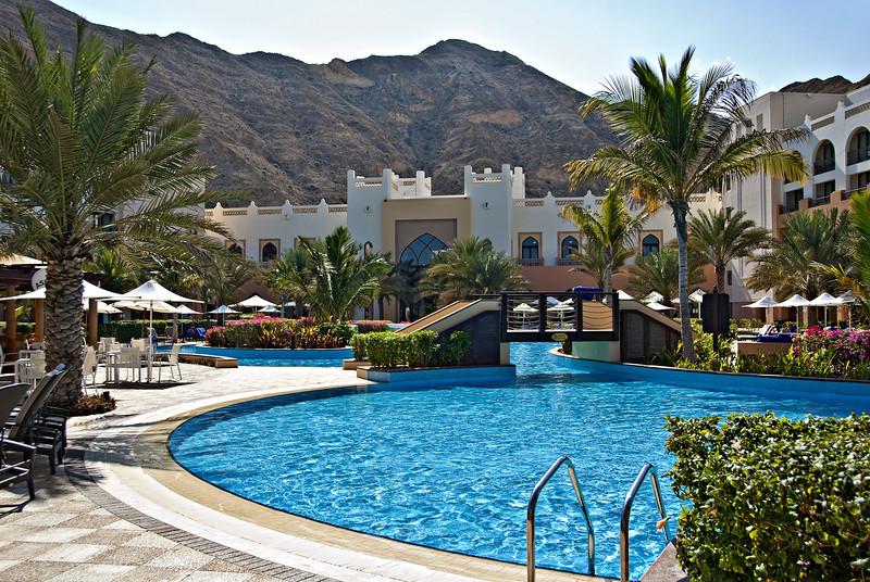 Poolside, Shangra La Resort.