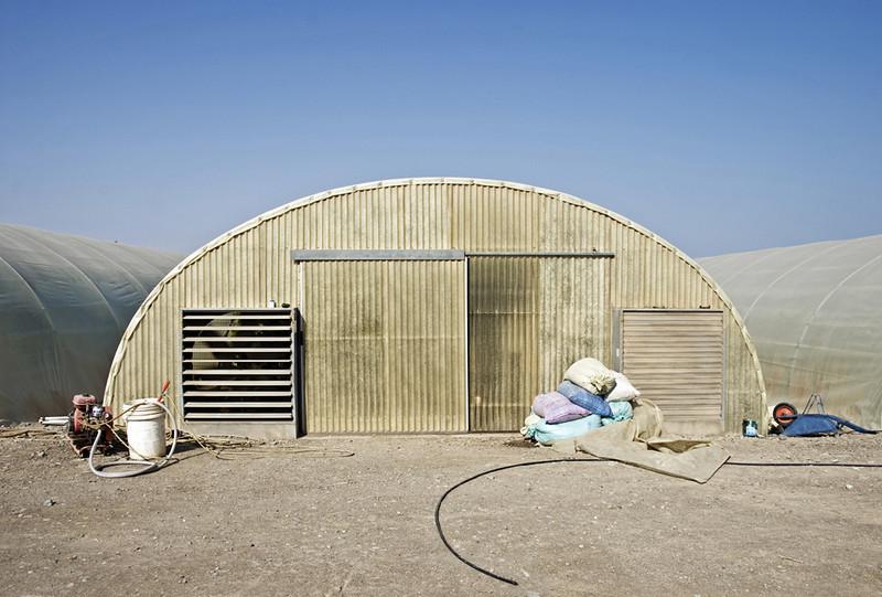 Greenhouse on the farm.