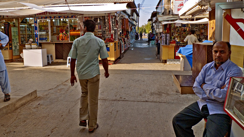 A stroll in the souk, Salalah.