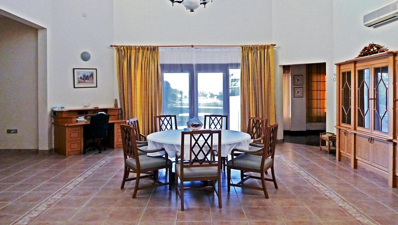 Main dining room, the farm.