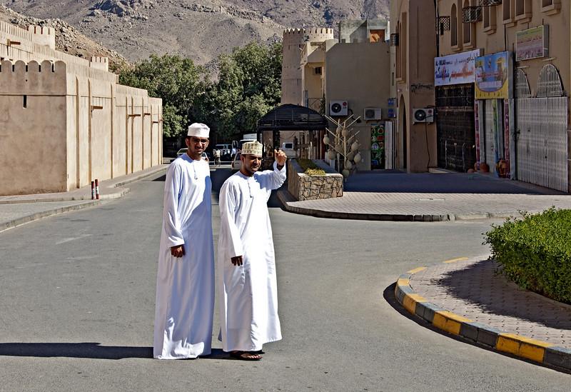 Ahmed and Ali, Nizwa.