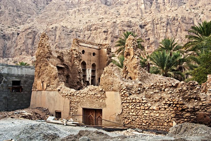 Ruined house, Wadi Tiwi.