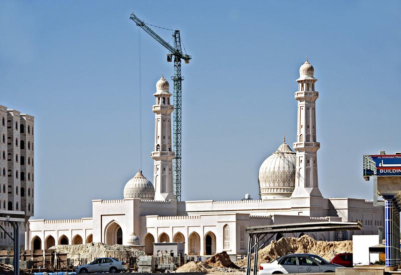 Mosque under construction, Salalah.