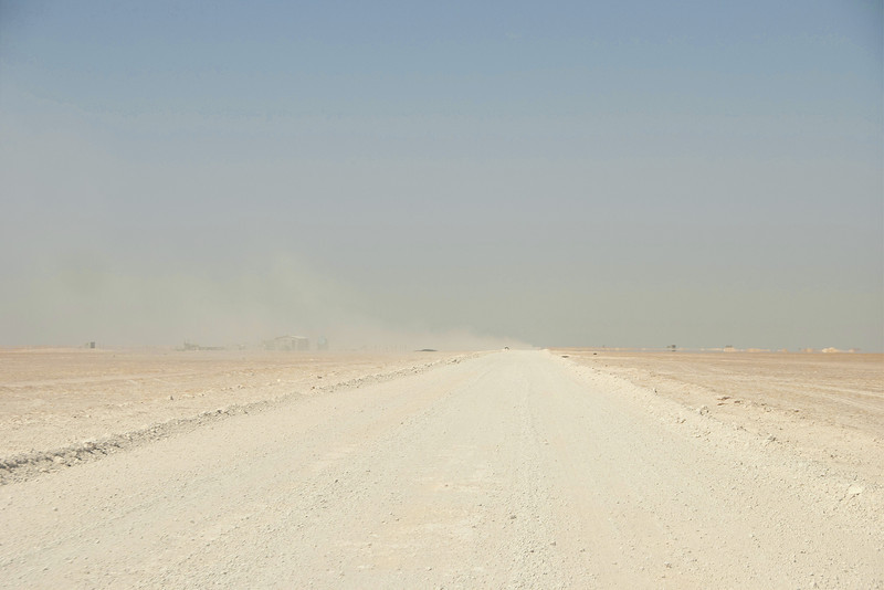Eating dust on the road to Ubar.