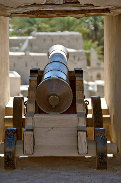 Canon, Nizwa Fort.
