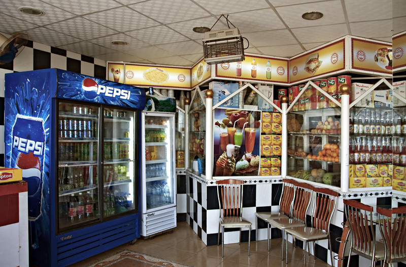 Fast food shop, Mirbat