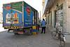 Milk delivery truck, Mirbat.
