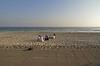 Men on the beach, Salalah.