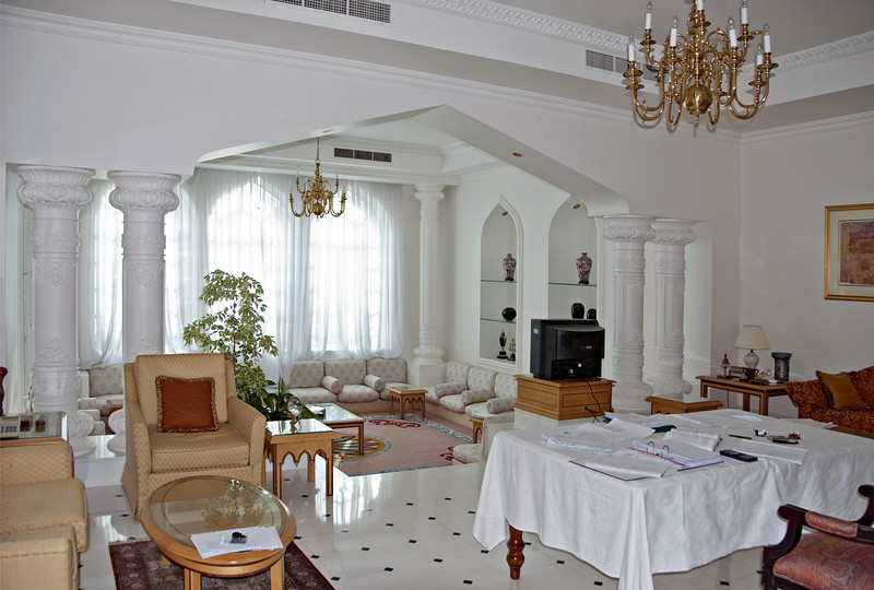 Family room, private home, Muscat.