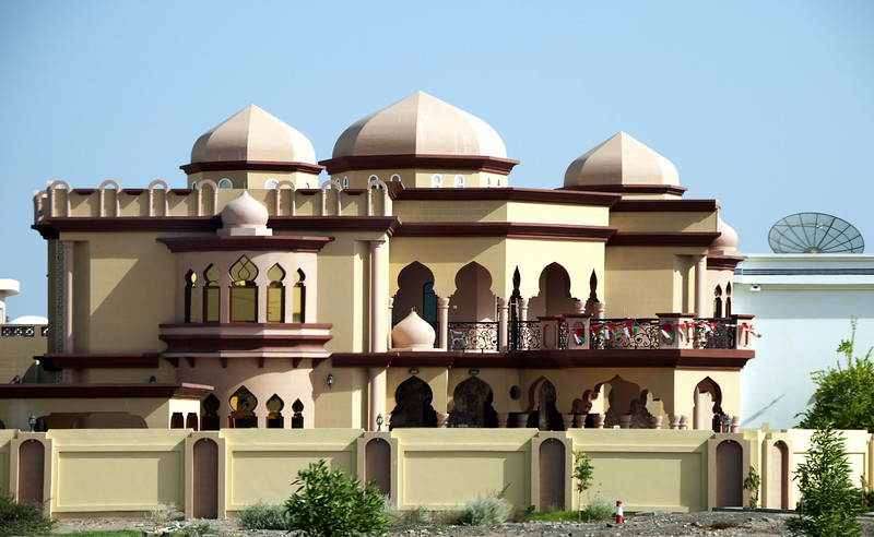 New house, Muscat.