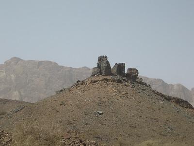 On the road near Al Hoota cave