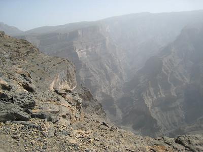 Hajar Mountain road