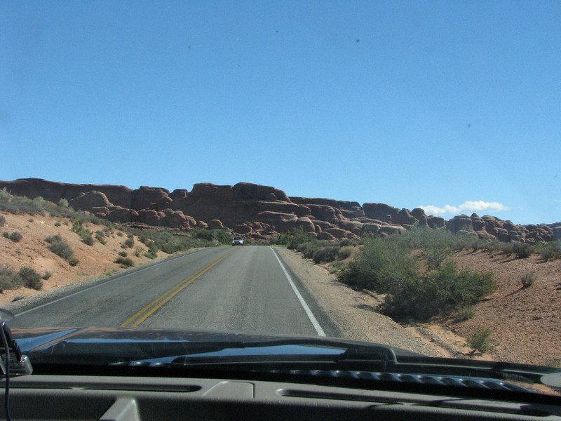 Traffic started to thin out as we moved farther towards Devils Garden.