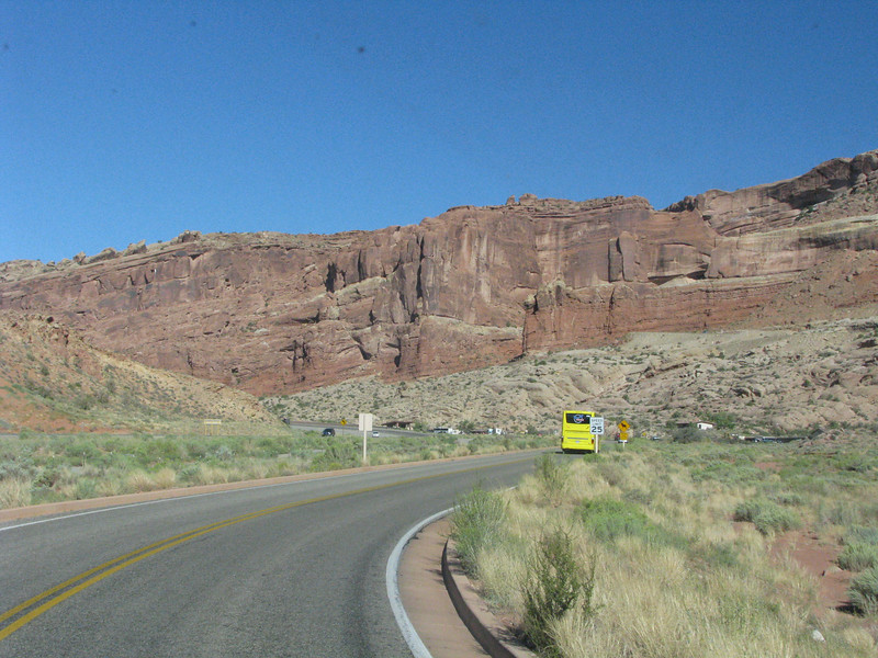 Sept.09,2010<br /> <br /> Entering Arches National Park