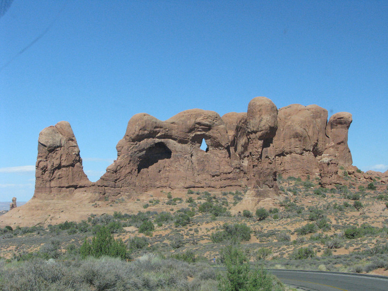 There are several arches on this loop road, making for a one stop sightseeing spot.