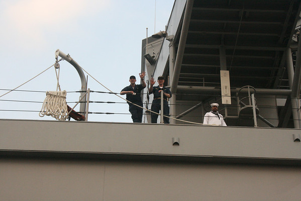 On USS Blue Ridge, May 15, 2008