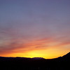 Fiery Yukon Sunset