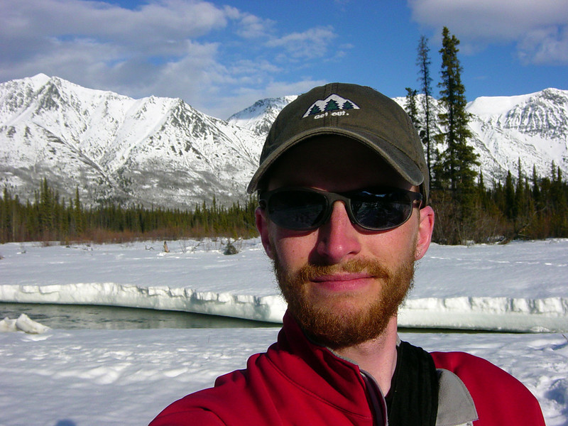 Self-Portrait --<br /> I took over 100 photos from this exact location...so I guess it's one of my favorite places to be in the Yukon!