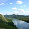 The Yukon River --<br /> And miles of uninhabited forest