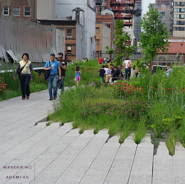 The park has a great mix of pathways and plantings