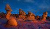 Goblin Valley by headlight
