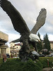 Eagle Sculpture at the entrance to the Seven Feathers Casino in Oregon
