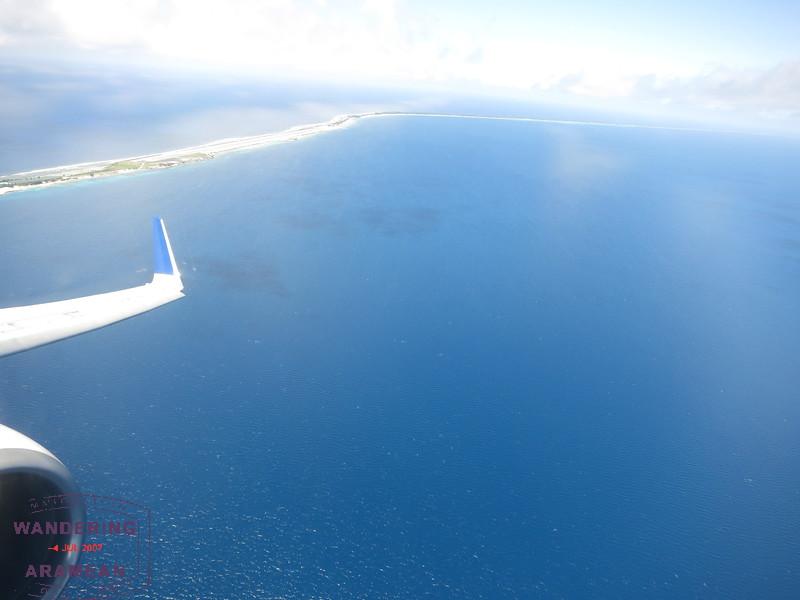 Majuro departure