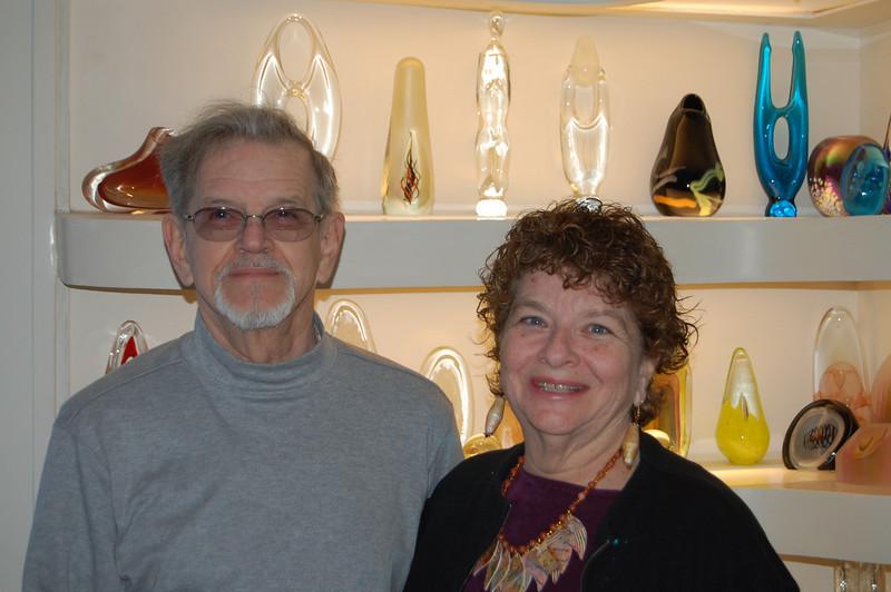 NJ hosts, Arlene and George