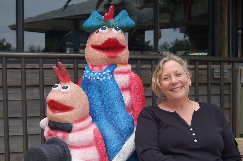 Gail's new friends