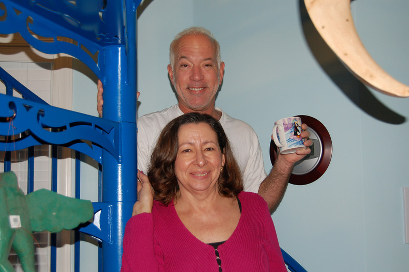 Our St. Augustine hosts, Mike and Carla Isicoff