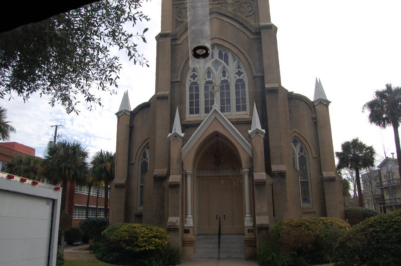 the first synagogue in Savannah