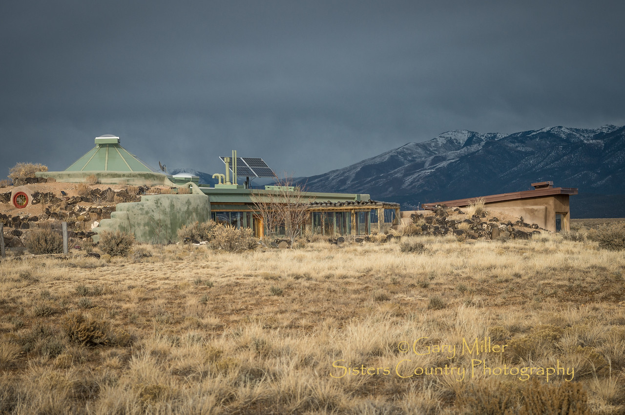 Earthship homes - Taos, NM - Gary N. Miller - Sisters Country Photography