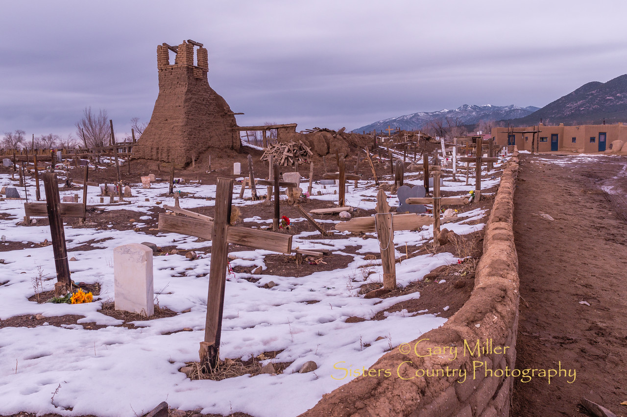 Pueblo de Taos, Taos, NM - February 3, 2013 - Gary N. Miller - Sisters Country Photography
