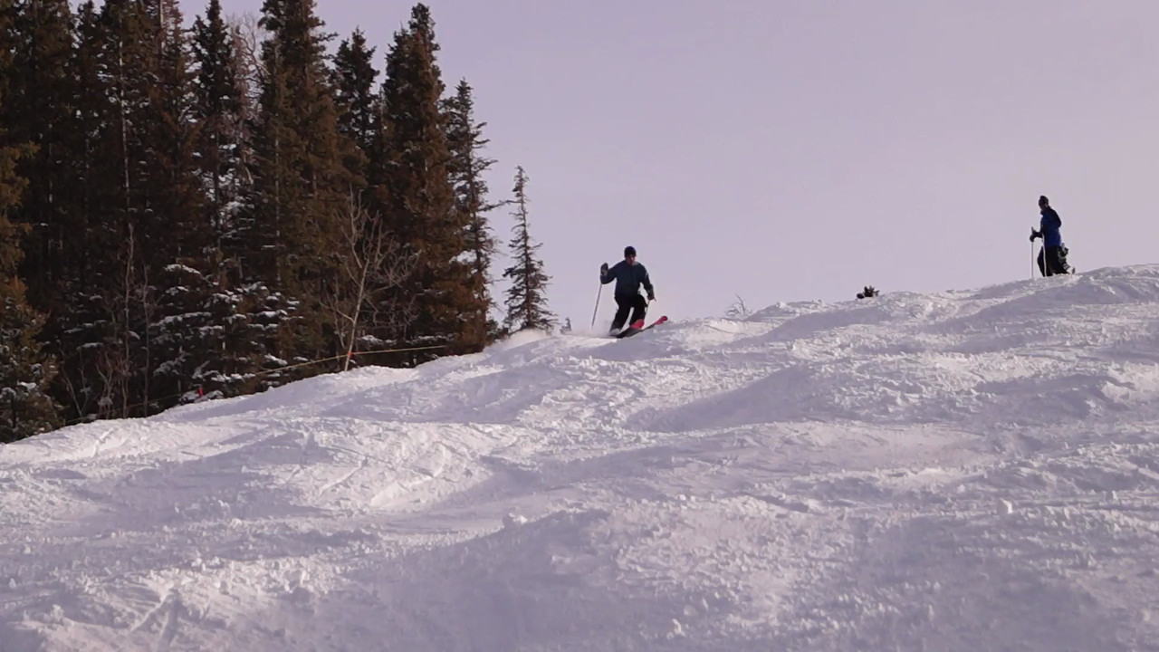 Tobin Marsh ski run video - Gary N. Miller - Sisters Country Photography