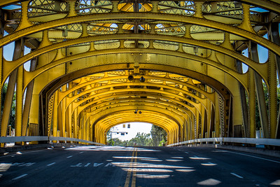 Tower Bridge, Sacramento  https://www.google.com/maps/place/Tower+Bridge/@38.580461,-121.508011,17z/data=!3m1!4b1!4m2!3m1!1s0x809ad132835469cb:0xbf15c7037ac9db74
