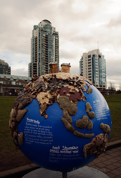 <p>Street Art, Winter Olympic in Vancouver, British Columbia, Canada</p>
