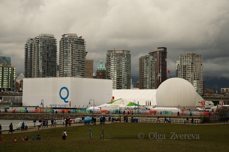 <p>Maison du Quebec. Winter Olympic in Vancouver, British Columbia, Canada</p>
